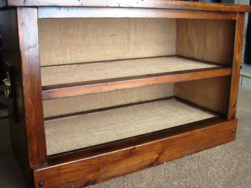 wood shoe storage plans